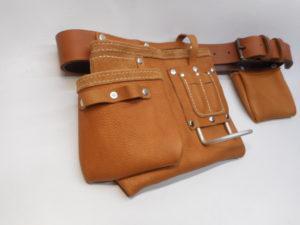 ceinture porte outils cuir