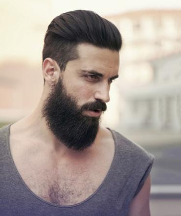 coiffure barbe homme
