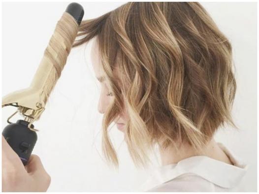 fer à boucler cheveux courts